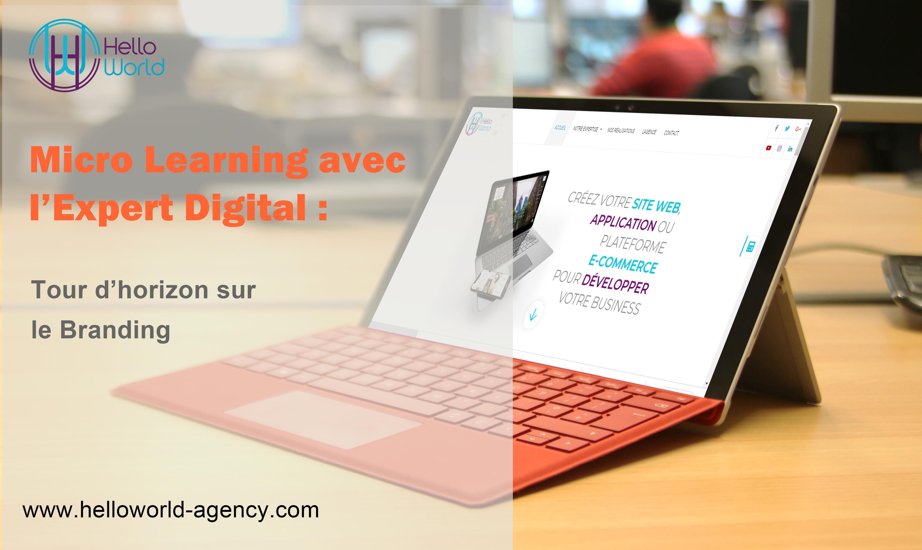 Micro Learning avec l'Expert Digital : Le branding
