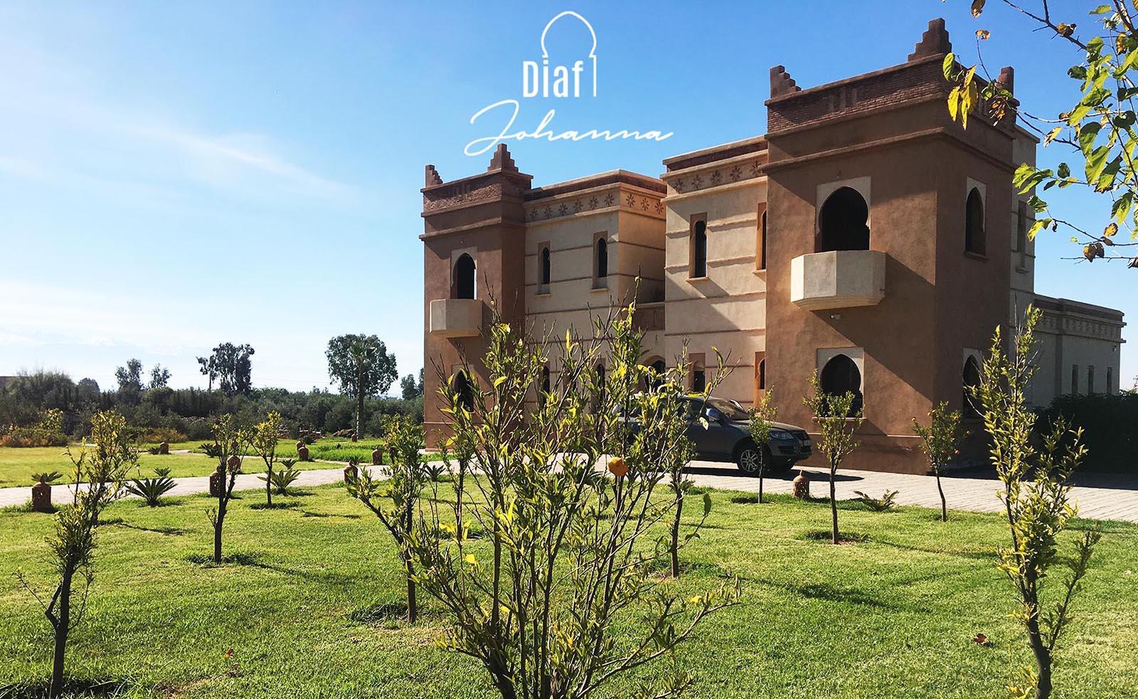 Villa Diaf Johanne Marrakech