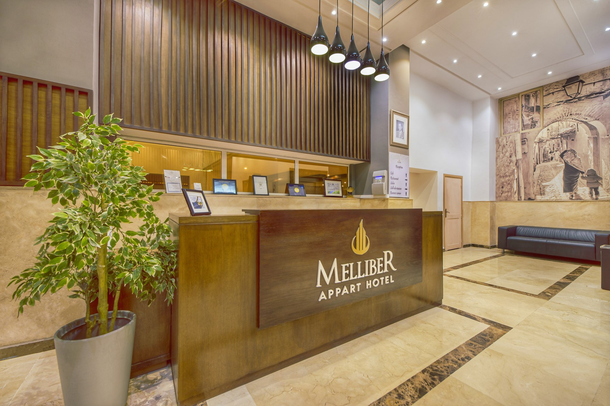 Melliber Appart Hotel Helloworld shooting photo Casablanca 15