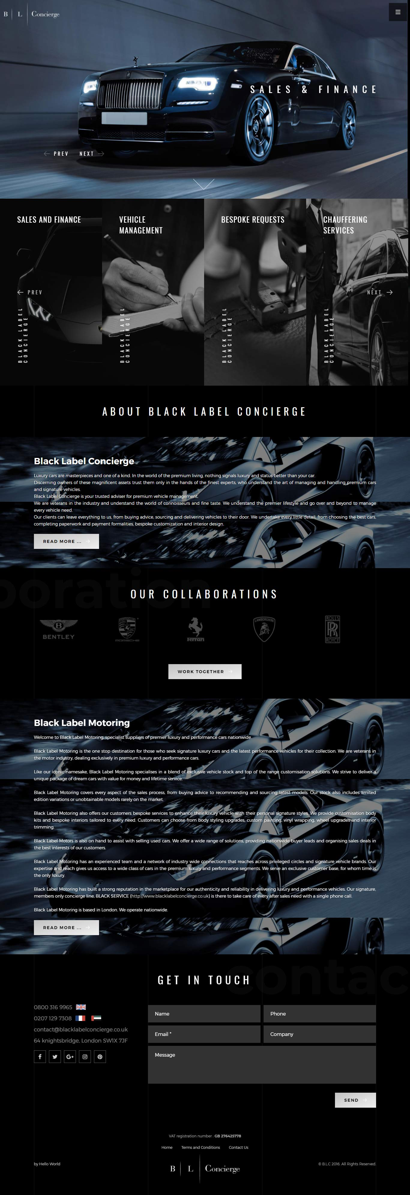 Black Label Concierge