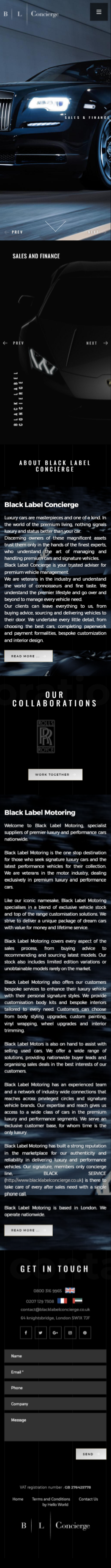 Black Label Concierge